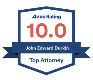 Attorney John Durkin Avvo badge